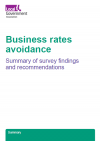 Business rates avoidance survey thumbnail